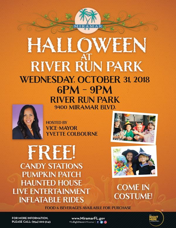 Halloween at River Run Park Flyer