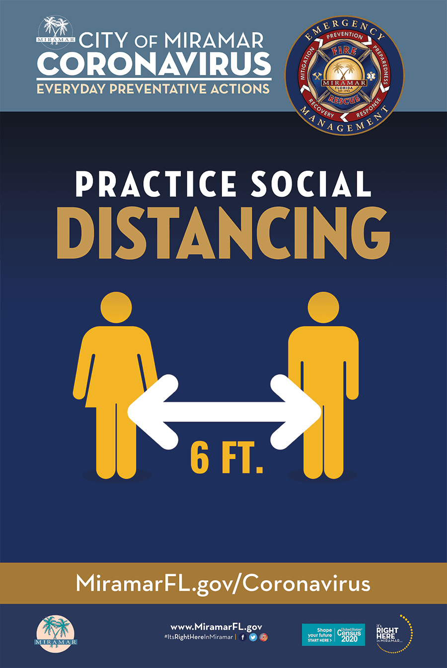 Safe Message - Social Distancing