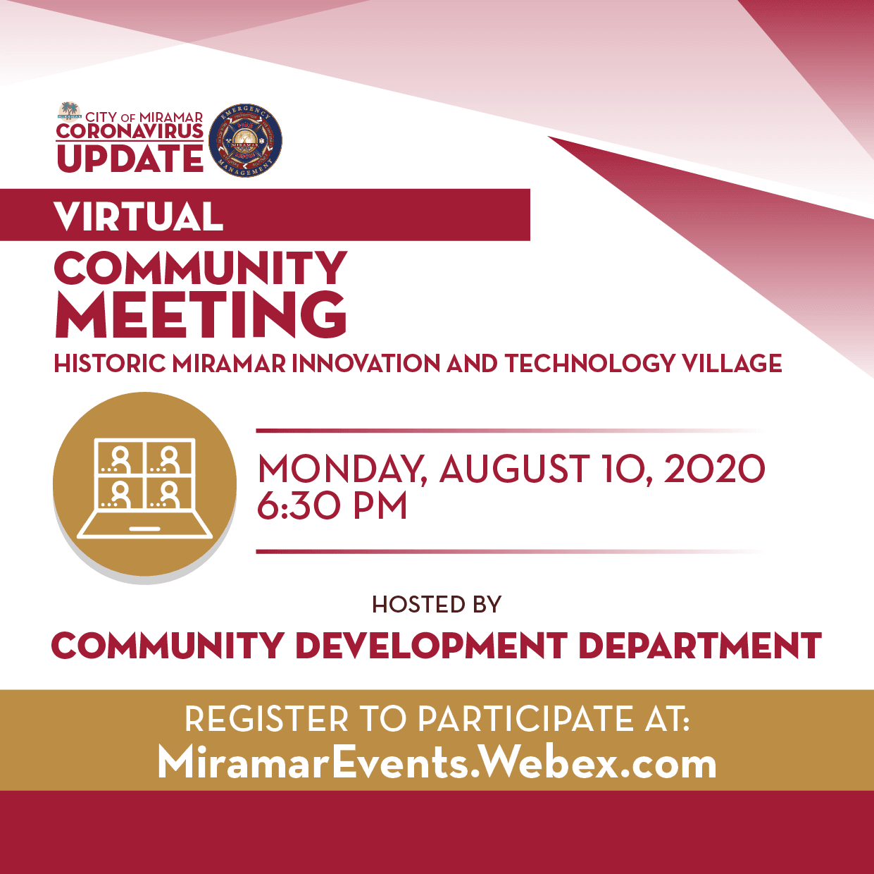 Community Mtg Aug 10