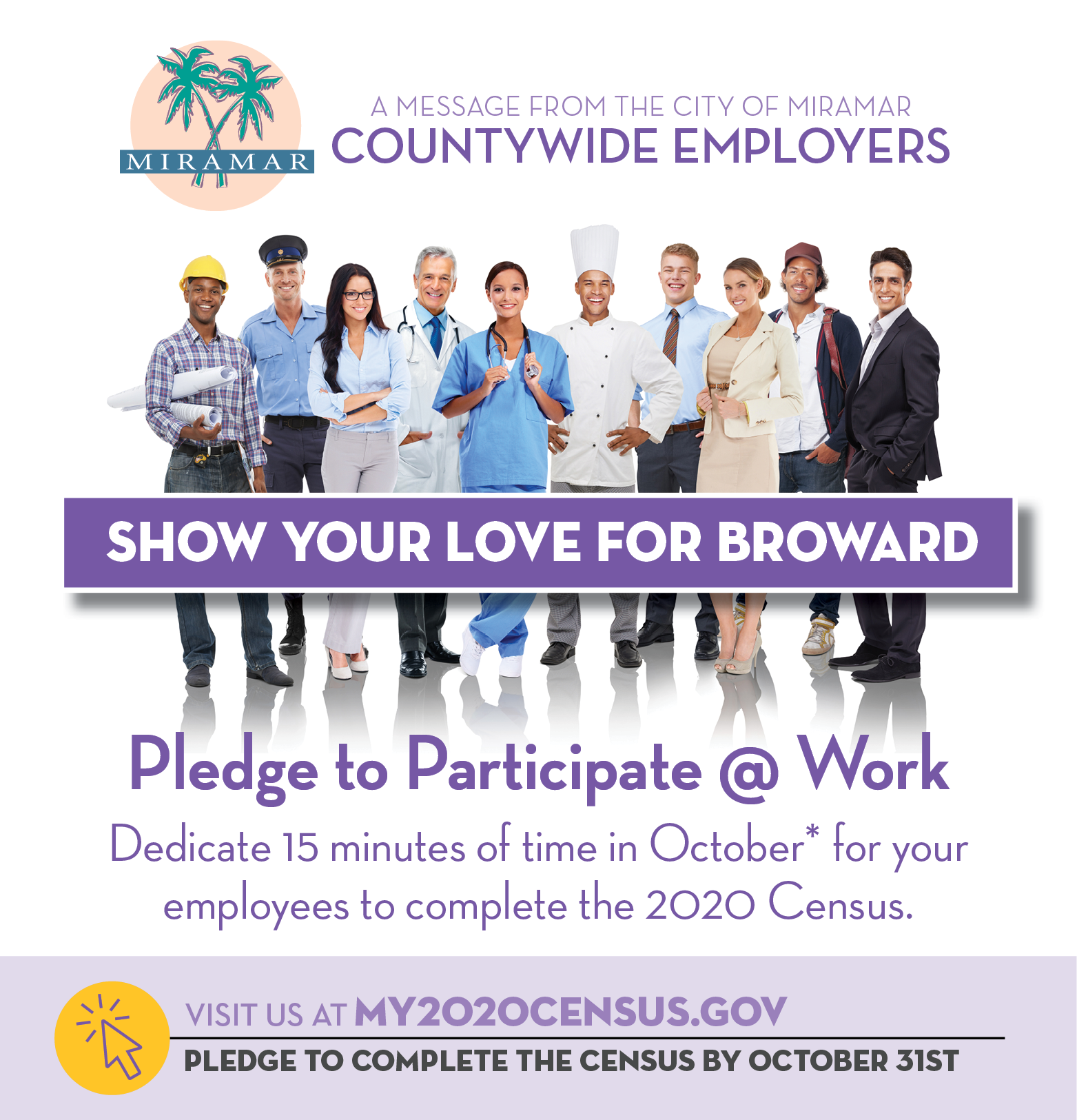 Census - Show Your Love for Broward