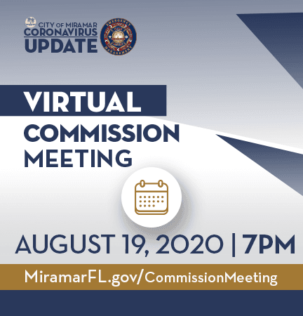 Virtual Commission Meeting 081920