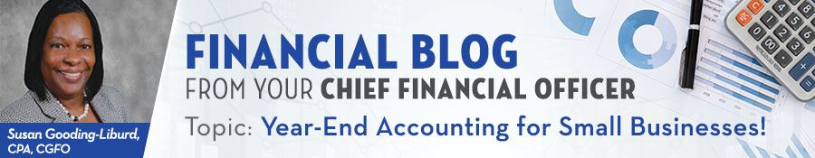 Financial Blog for Small Businesses Page Banner
