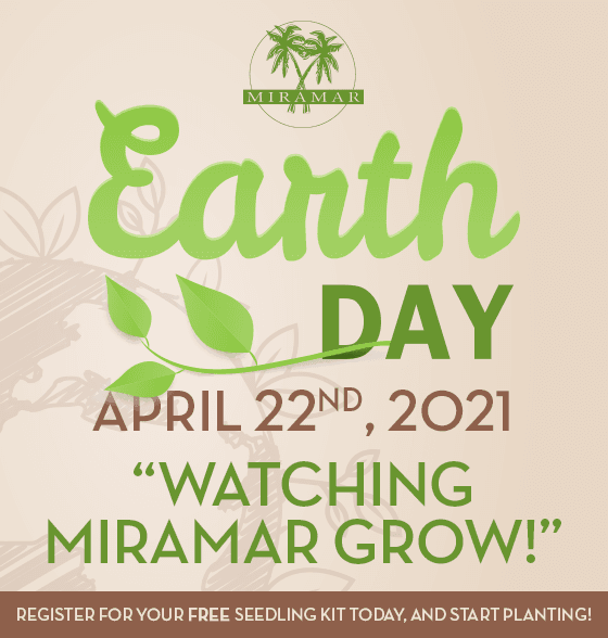 Earth Day Event April 22 2021 - home page banner