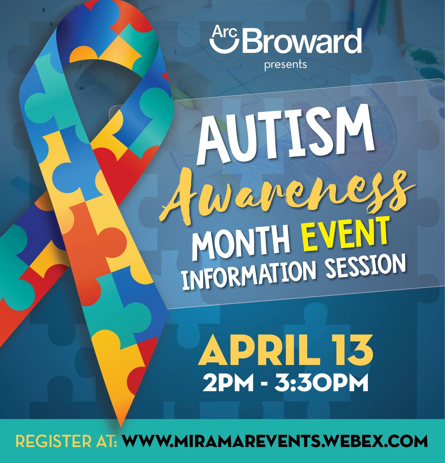 Autism Awareness Month Event Information Session - banner