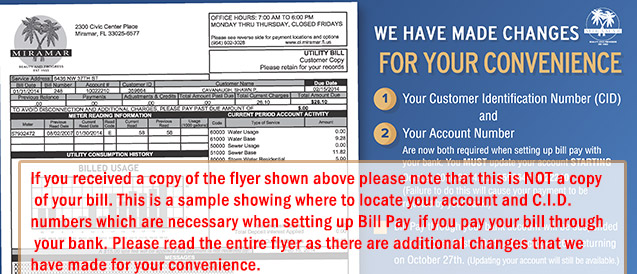 Water Billing Division | Miramar, FL - Official Website