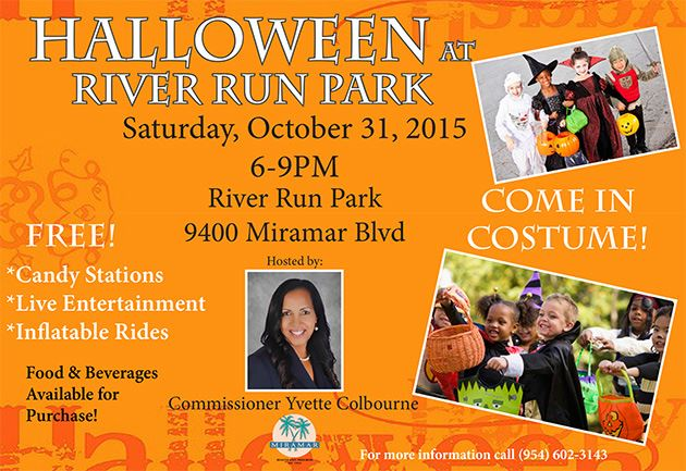 Halloween Bash at River Run Park 2015