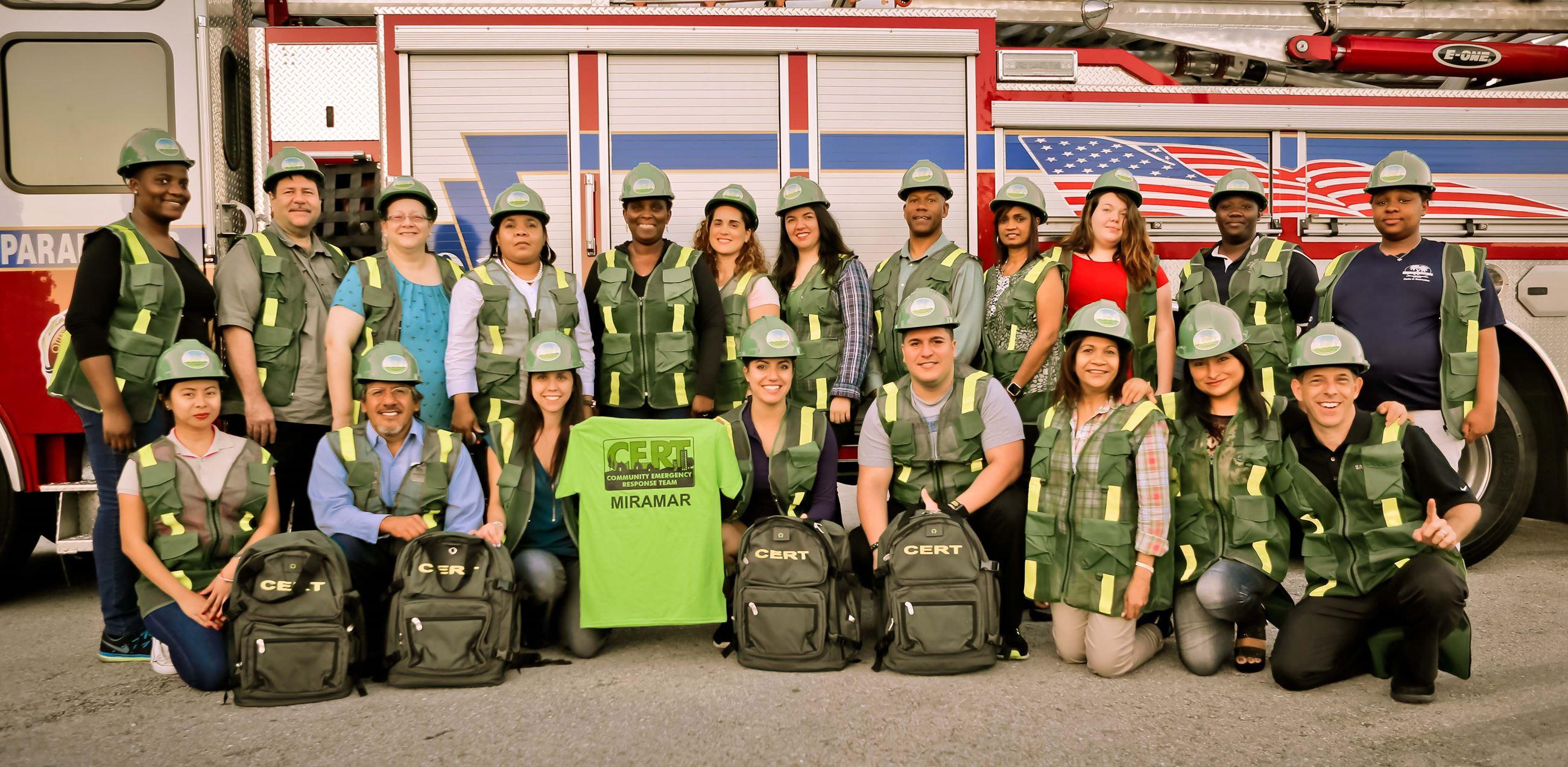 Community Emergency Response Team  Miramar, FL