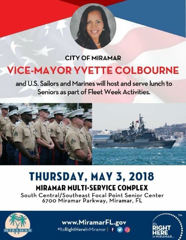 Fleet Week with Miramar Seniors for Cinco de Mayo 2018