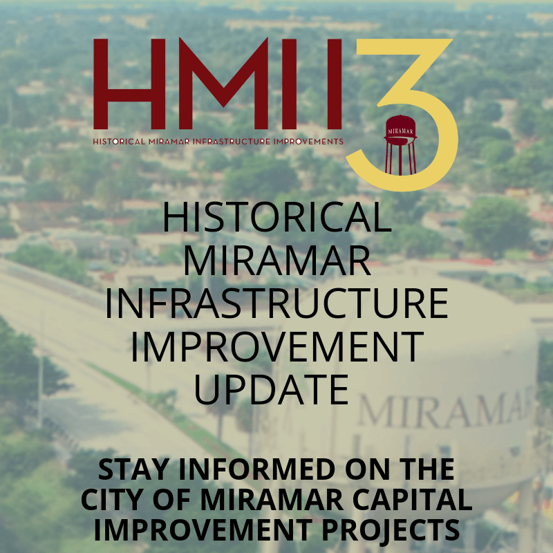 HISTORICAL MIRAMAR INFRASTRUCTURE IMPROVEMENT STAY INFORMED ON CITY OF MIRAMAR CAPITAL IMPROVEMENT P
