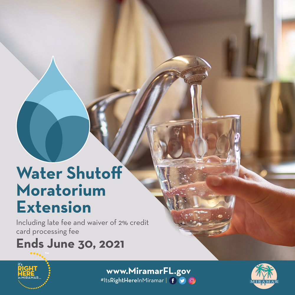 Water Shutoff Moratorium Extension
