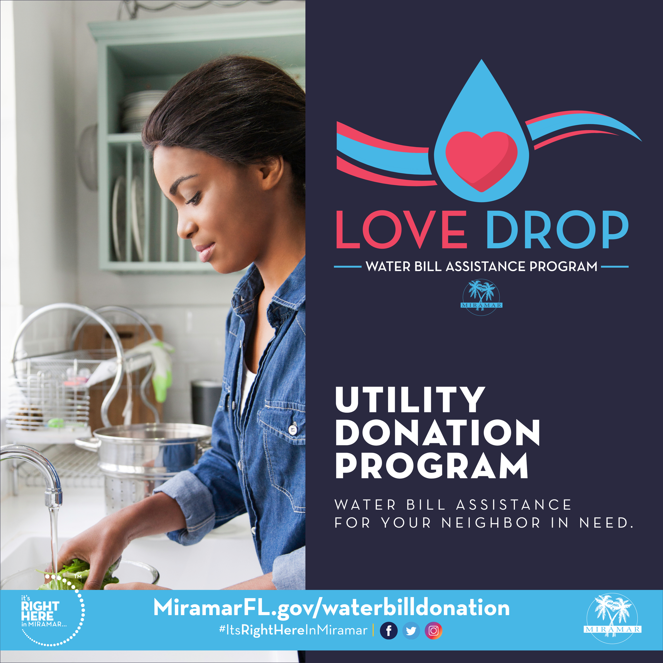 LoveDrop Utility Bill Donation Program
