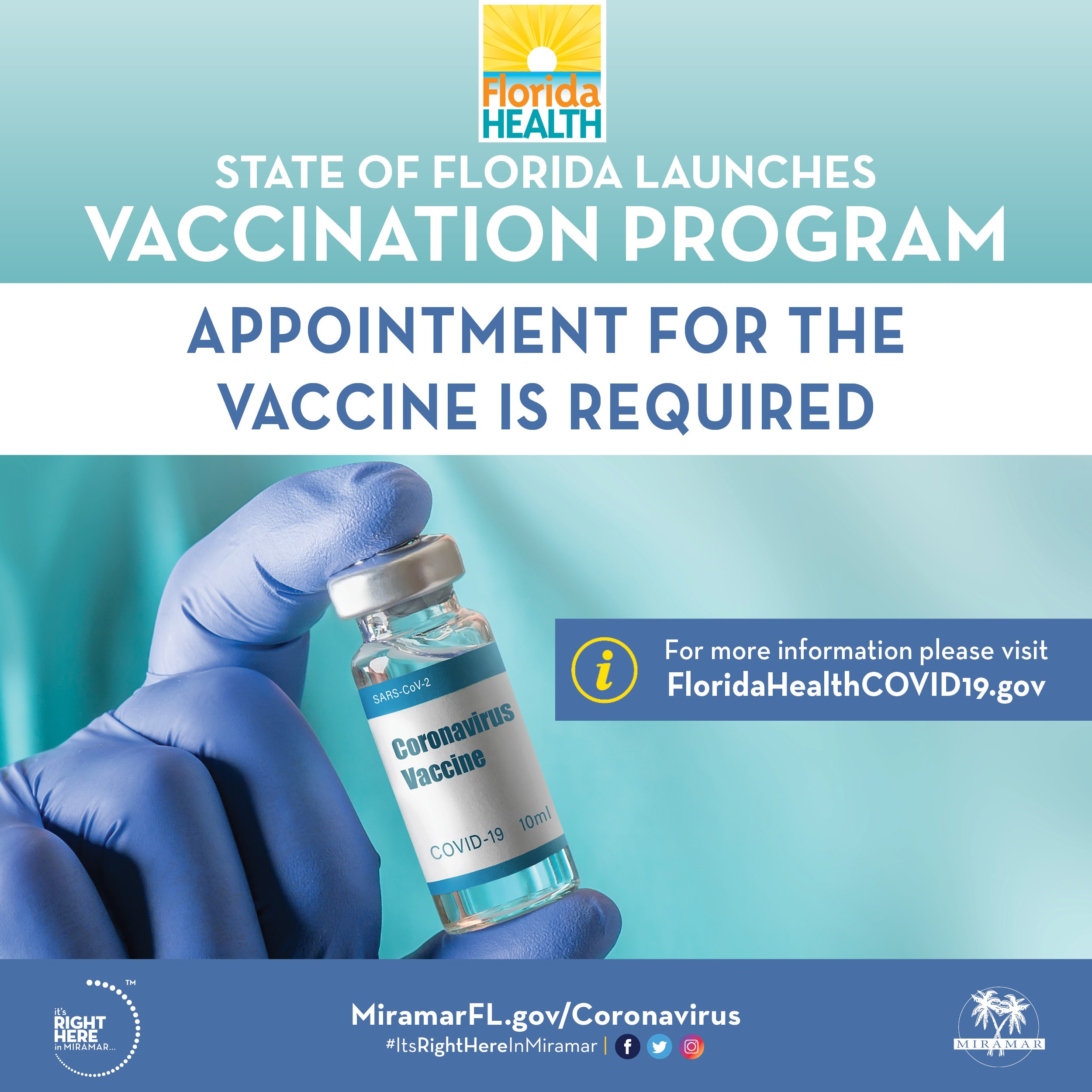 Florida Covid-19 Vaccination Program - Flyer