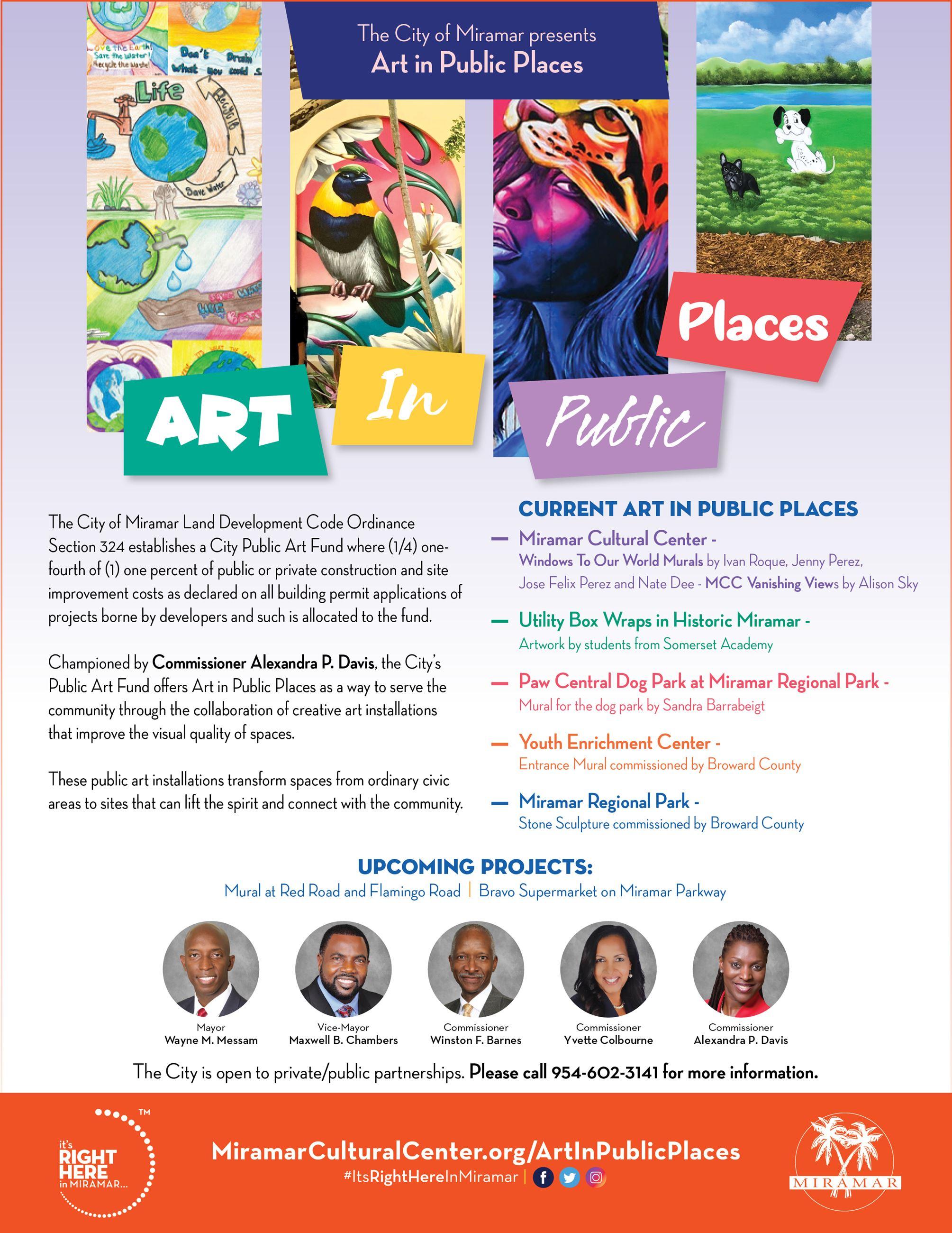 Art in Public Places - Flyer