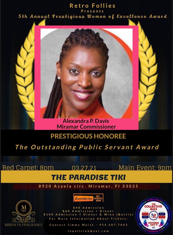 Commissioner Davis Award 03272021