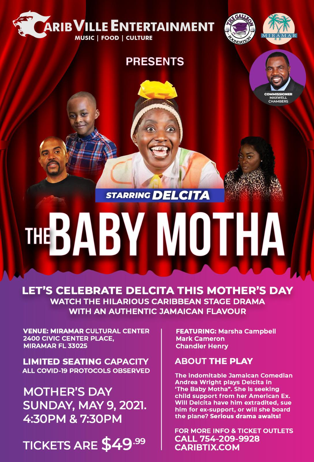Commissioner Chambers - The Baby Motha Flyer May 9