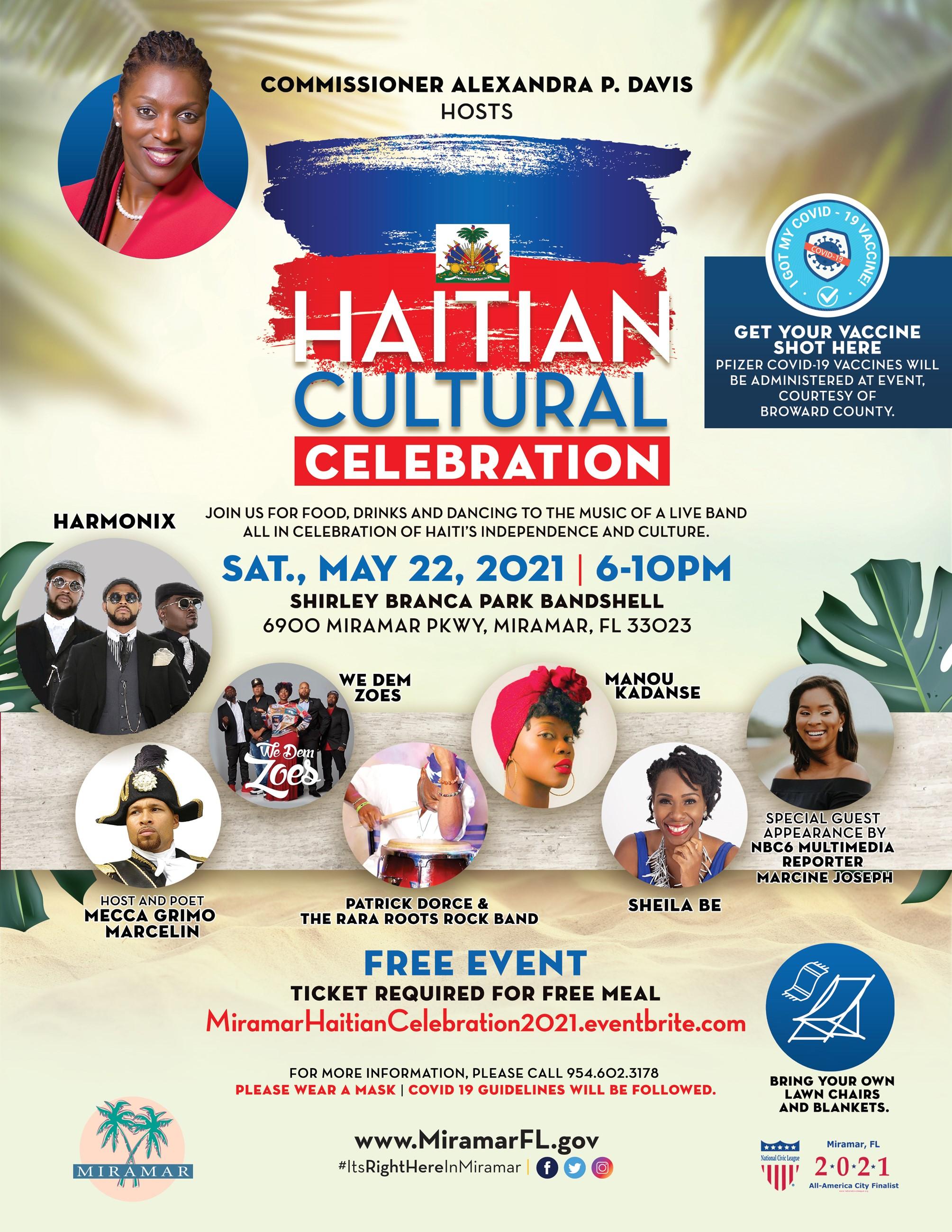 Haitian Culture Celebration 2021