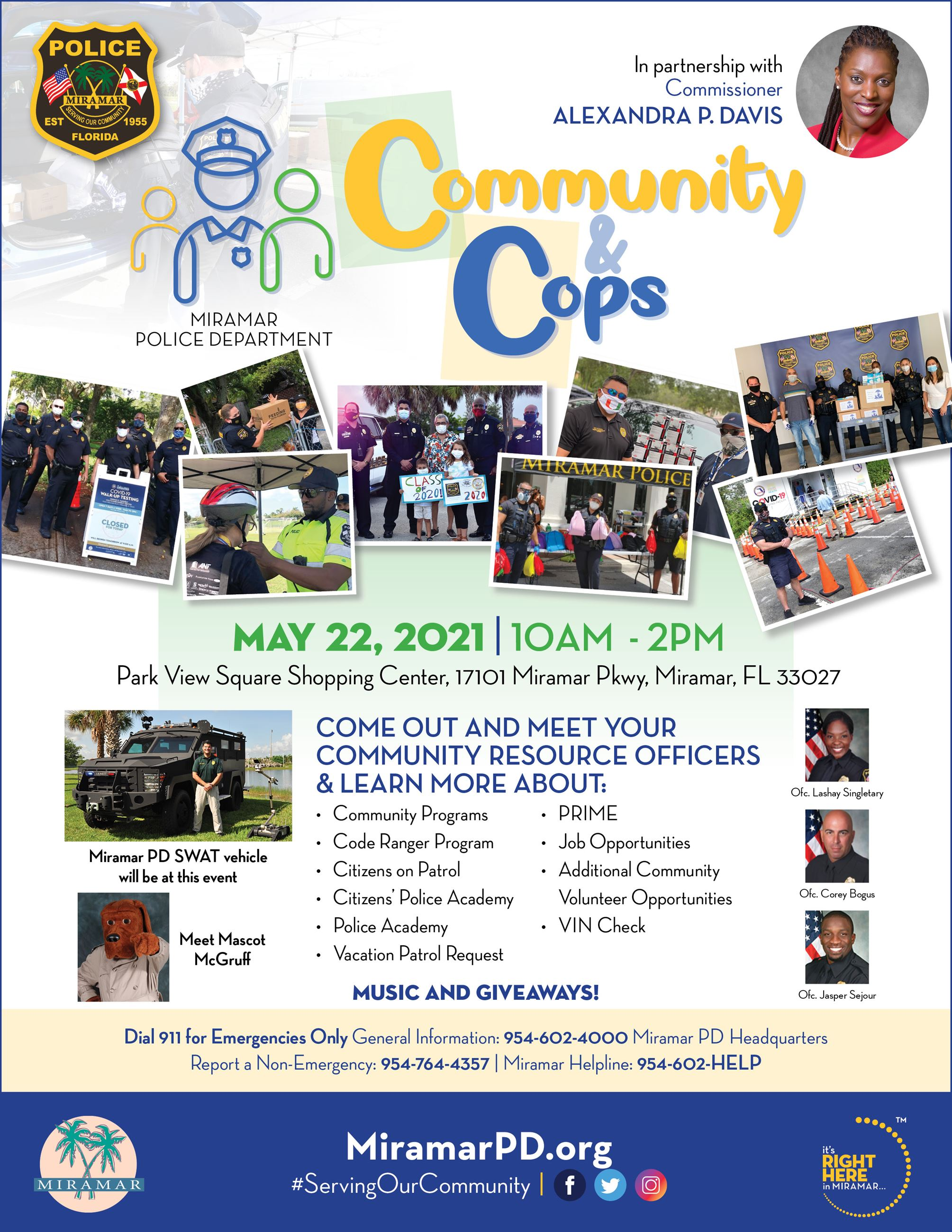 Community and Cops May 2021