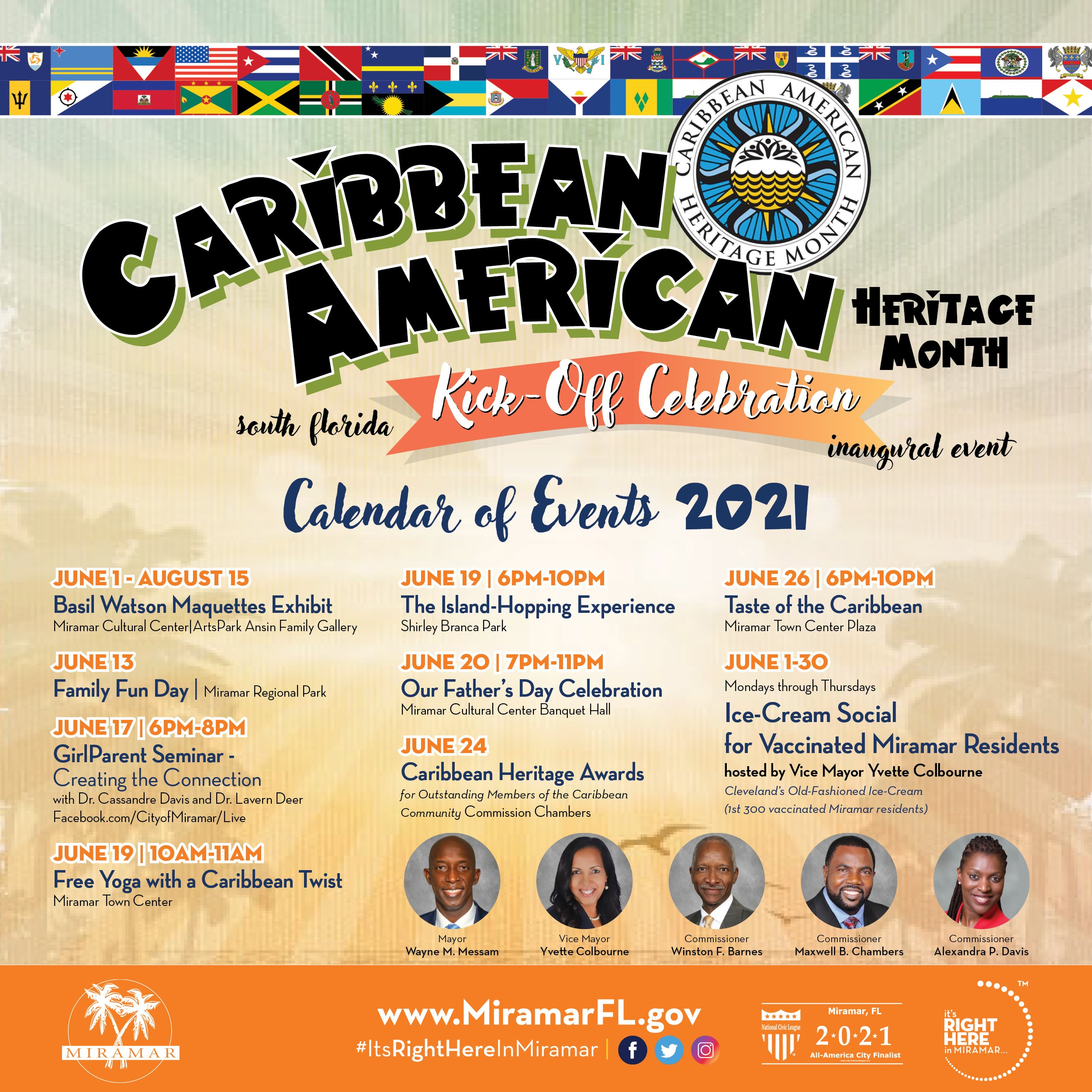 Caribbean American Heritage Month South Florida Kick-off Event