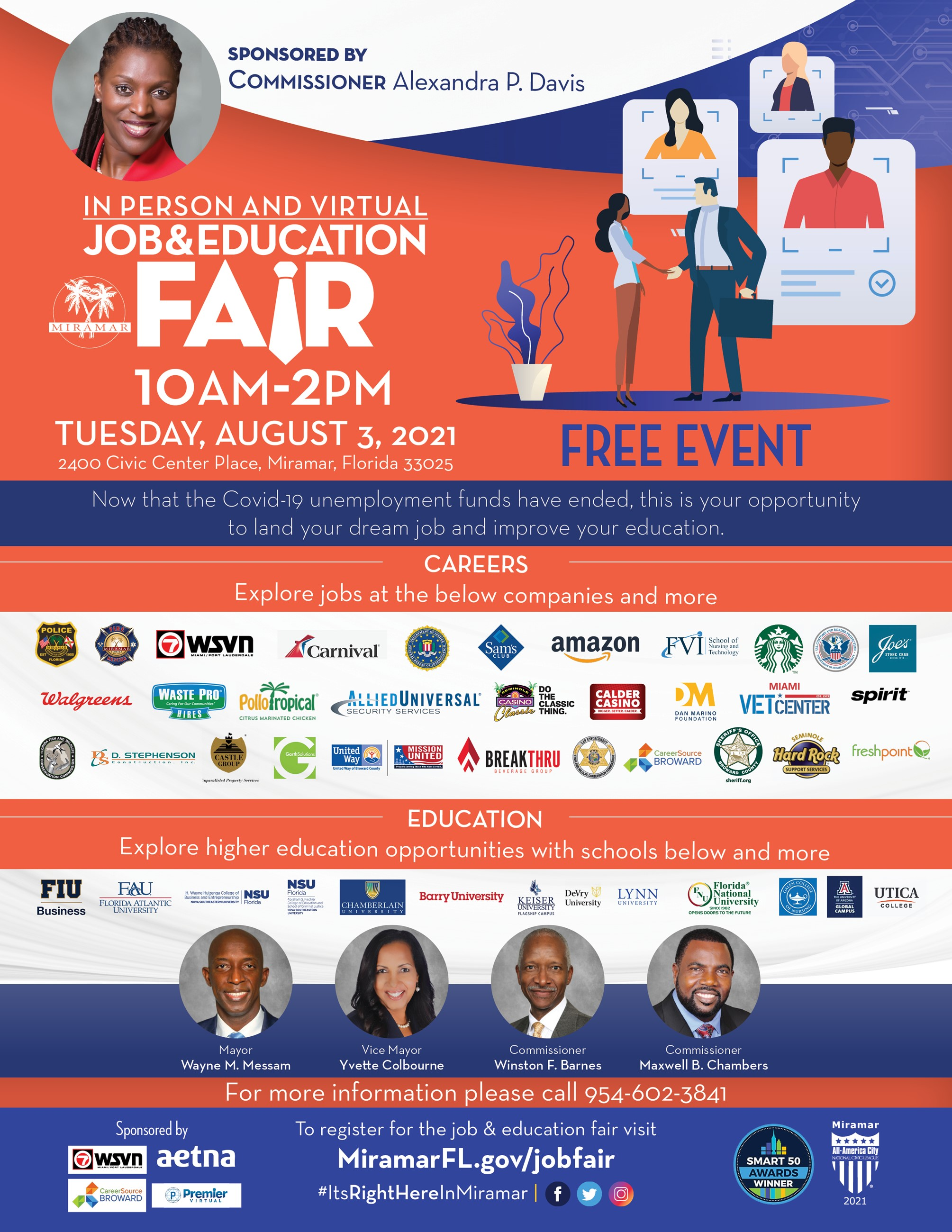 Job and Education Fair 2021