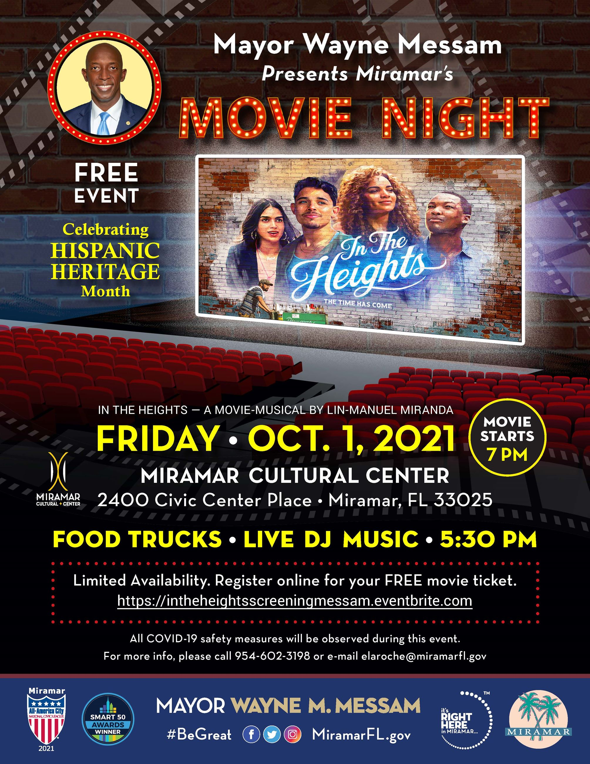 Mayor Messam In The Heights Movie Night Flyer Proof-2
