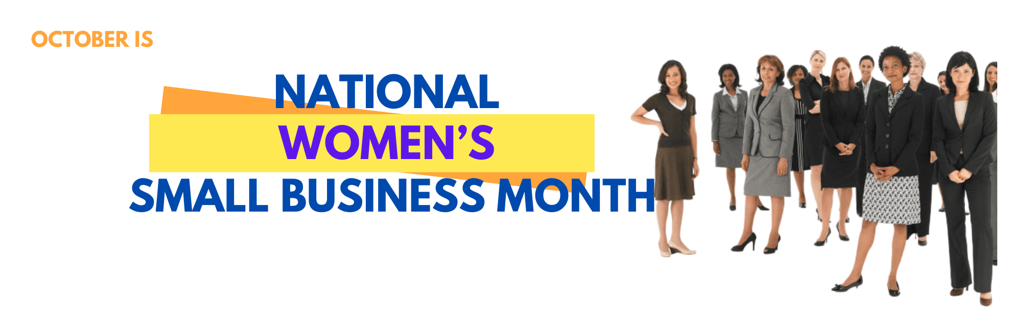 We're celebrating women-owned businesses everywhere, as well as the outstanding progress female